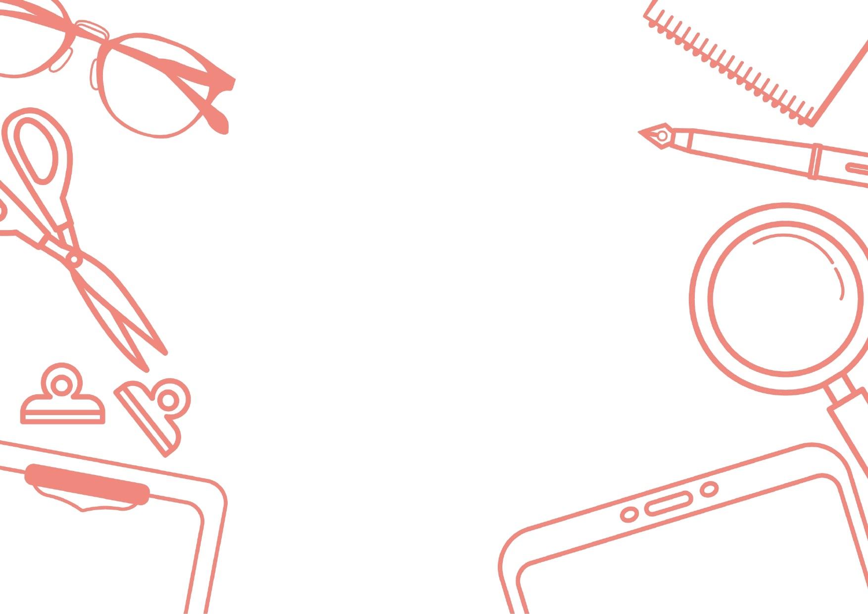 道具・文房具のフレームデザイン01