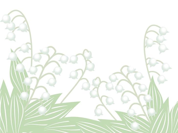植物 花 すずらん