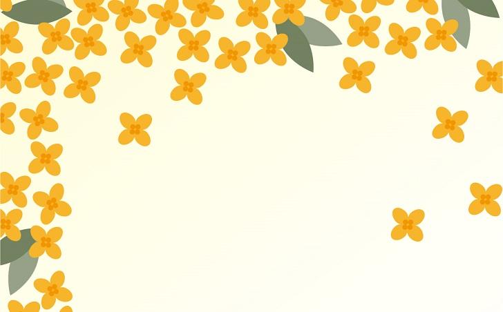 花 金木犀 秋