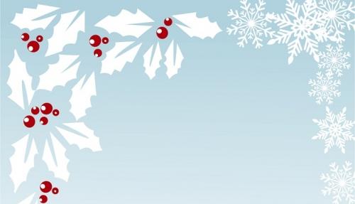 クリスマス ヒイラギ