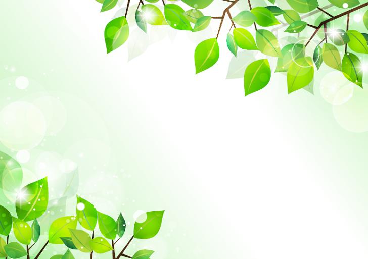 5月新緑デザインのword・透過png・jpg・pdf無料イラストフレーム素材