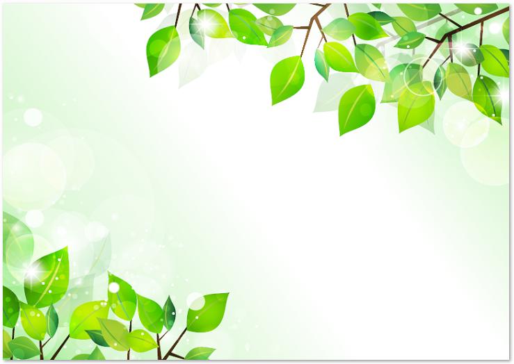 5月新緑デザインのword 透過png Jpg Pdf無料イラストフレーム素材 無料ダウンロード テンプレルン