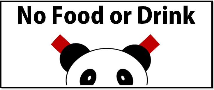 飲食物 持ち込み 禁止 テンプレート 張り紙